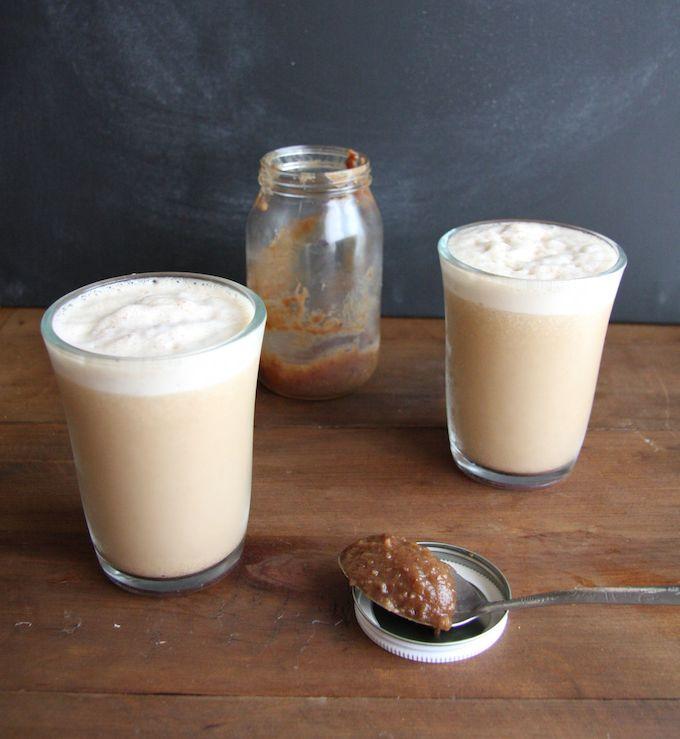 Vegan Skinny Salted Caramel Frappuccinos - 24 Carrot Life