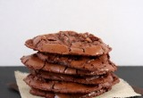 Flourless Triple Chocolate Cookies
