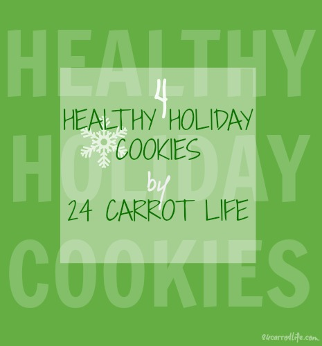 Healthy Holiday Cookies by 24 Carrot Life
