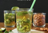 Skinny Coconut Kiwi Mojito {Recipe Redux} I 24 Carrot Life
