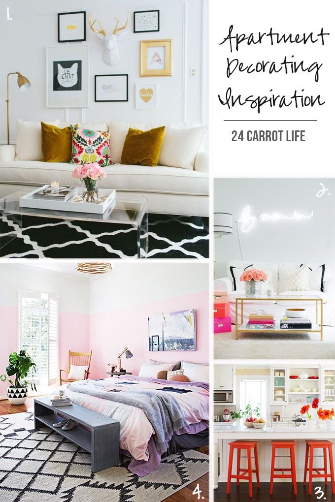 Apartment Decorating Inspiration 24 Carrot Life