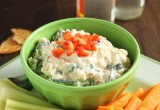 Greek Yogurt Veggie Dip // 24 Carrot Life #greekyogurt #vegetarian #healthy