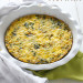 Easy Veggie Goat Cheese Frittata- A delicious, quick and healthy meal that is perfect for breakfast, lunch or dinner // 24 Carrot Life #eggs #healthy #vegetarian