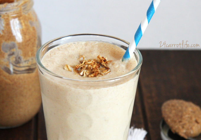 Copycat Juice Generation Peanut Butter Split Smoothie